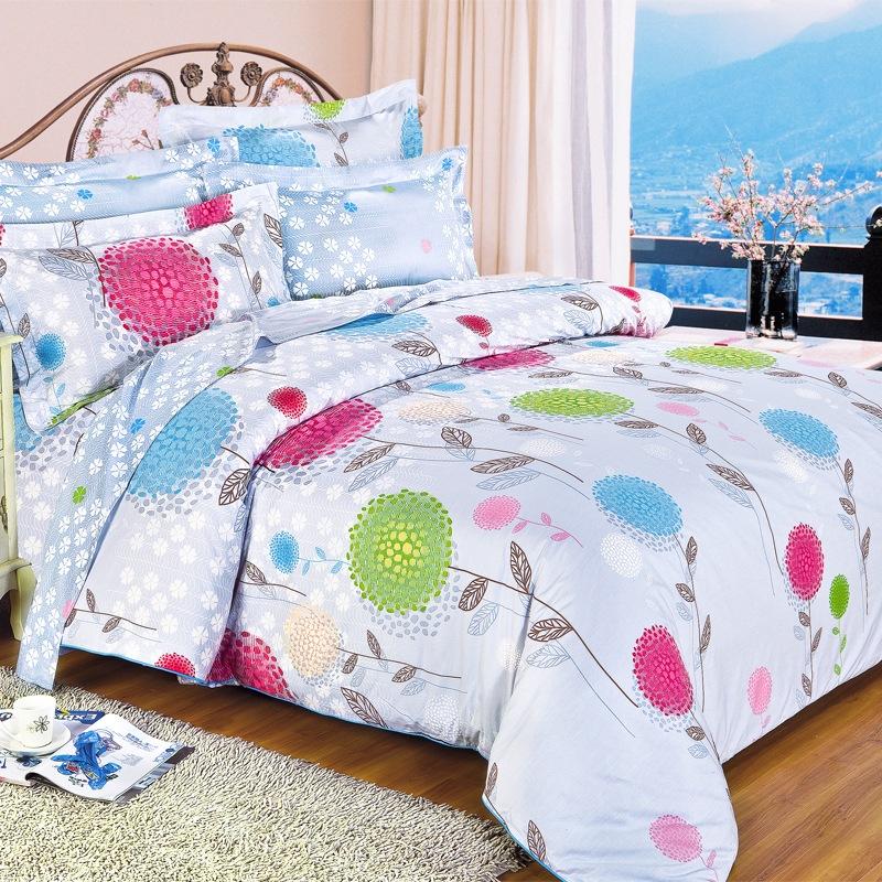JD Коллекция Цветочный аромат 18натяжная простыня mercury постельные принадлежности набор 4 штуки простыня с набивной чехол на одеяло 100