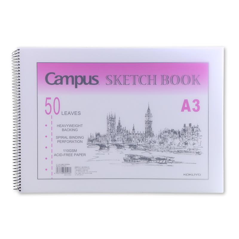 JD Коллекция A3 спираль 50 листов art picture book