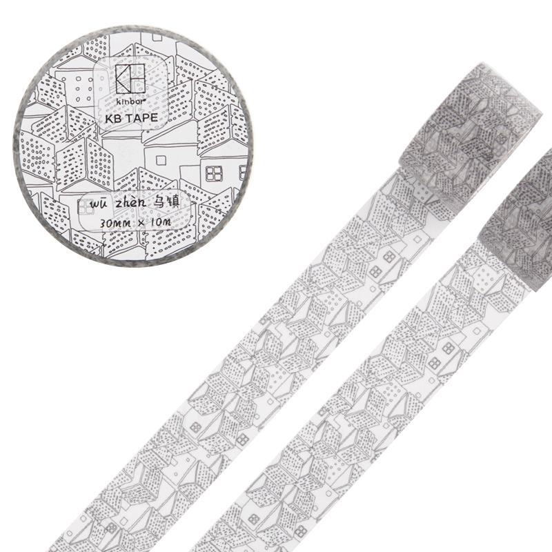 JD Коллекция 30мм 10м Wuzhen дефолт 2017 new 70mm 7m high quality classical beauty girls japanese washi decorative adhesive tape diy masking paper tape sticker gift