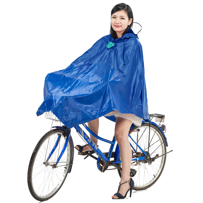 JD Коллекция синий пончо велосипедов kendo открытый верховая езда взрослый велосипед плащ мужской и женский одиночный пончо увеличить утолщение z 1 темно синий 3xl