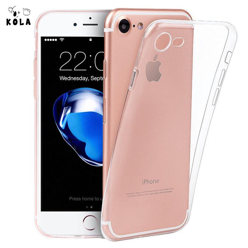 JD Коллекция Прозрачный iPhone87 escase oppo r11 мягкой оболочки мобильный телефон оболочки tpu силиконовый защитный рукав drop прозрачный характер
