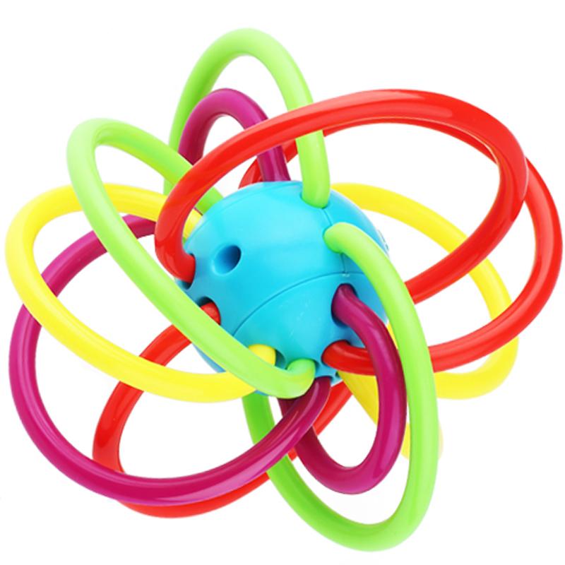 JD Коллекция Manhattan схватив мяч дефолт ulti керри aozhijia раннего детства образовательные детские игрушки умиротворить manhattan кэдди gutta молочные зубы могут укусить схватив мяч 1688 a