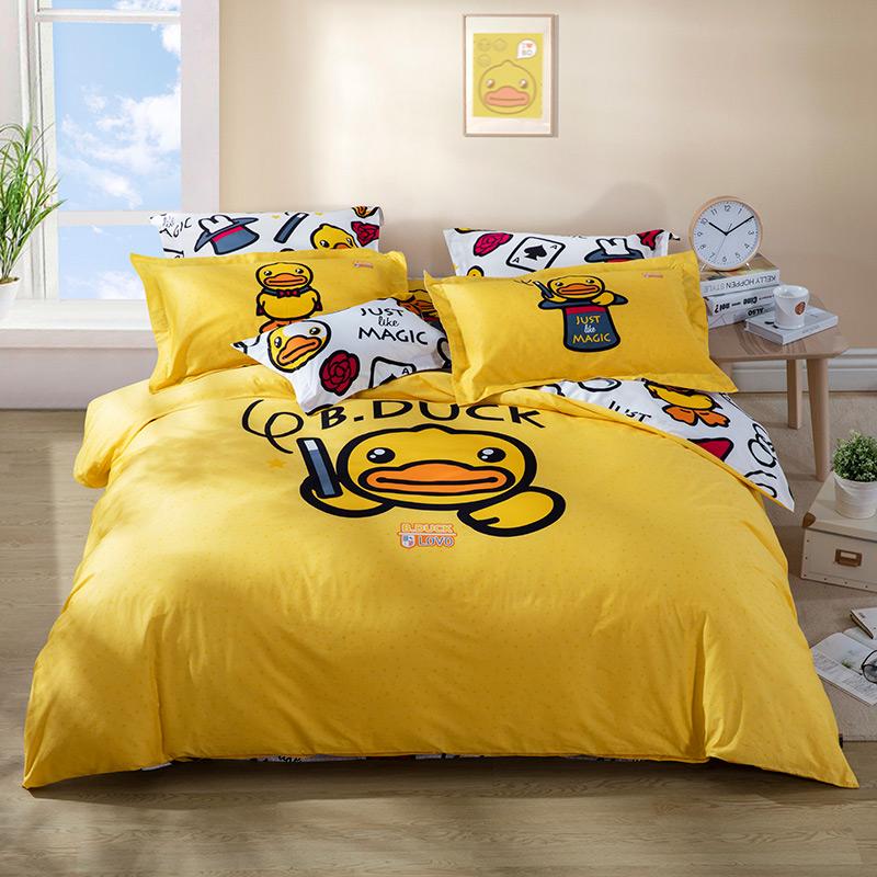 JD Коллекция утка 18m кровать 220240 cm mercury постельные принадлежности набор 4 штуки простыня с набивной чехол на одеяло 100