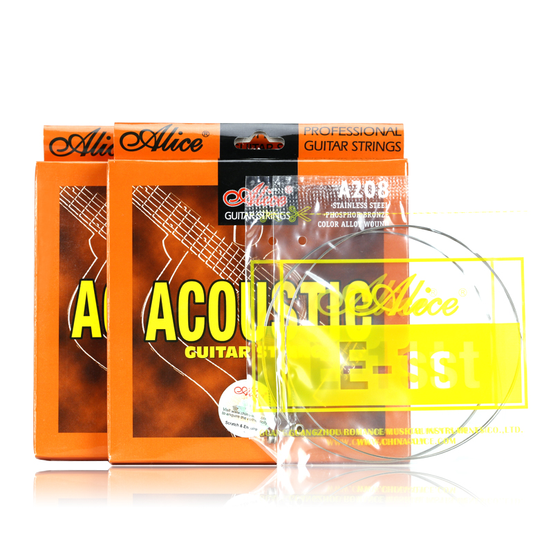 JD Коллекция 6 strings electric bass strings steel core nickel alloy wound 032 130 inch alice a606