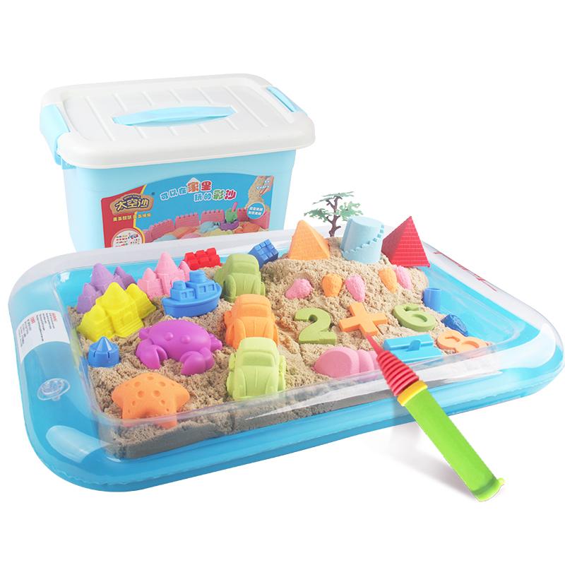 JD Коллекция 3 фунта песочного цвета - Мудрость Замок Set дефолт peipei музыка peipeile цвет песка diy игрушки ручной работы дети играют дома игрушки глины песка песочного цвета 5 фунтов