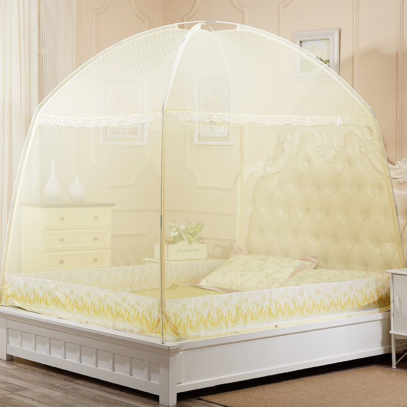 JD Коллекция бежевый 18 м кровать платье текстильное