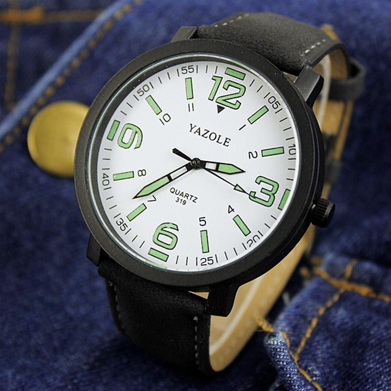 UNIWATCH черный часы я zhuolun мужские часы 2017 новый простой корейский моды большой набор новый yzl0558th 2