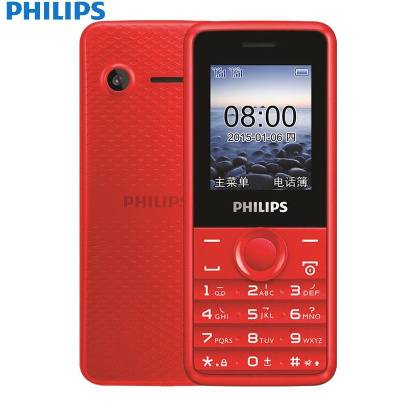 PHILIPS Красный philips e103 black
