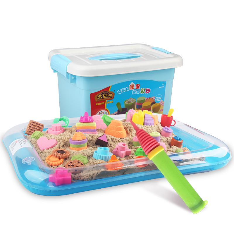 JD Коллекция 2 фунта песочного цвета - каждая семья костюм дефолт peipei музыка peipeile цвет песка diy игрушки ручной работы дети играют дома игрушки глины песка песочного цвета 5 фунтов