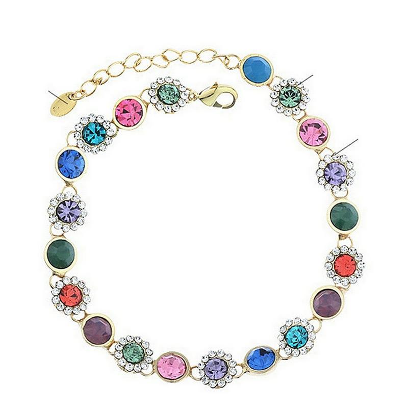 yoursfs Многоцветный дизайн панков турецкий браслеты для глаз для мужчин женщины новая мода браслет женский сова кожаный браслет камень