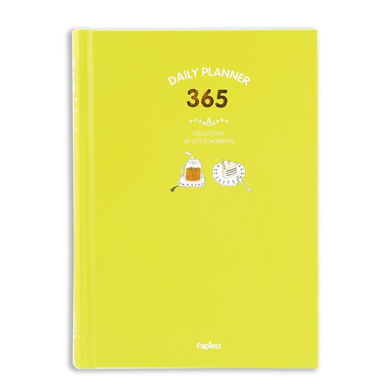JD Коллекция kinbor записная книжка kgy21201 с цветными листами желтая