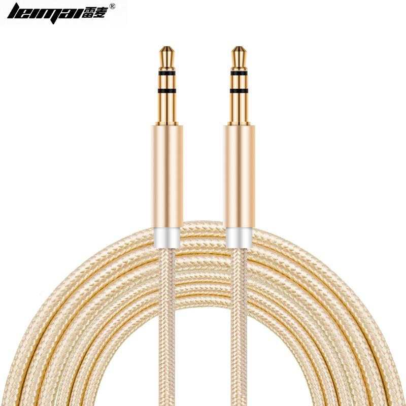 JD Коллекция Шампанское Золото AUX аудио кабель автомобиля revofree aux аудио кабель