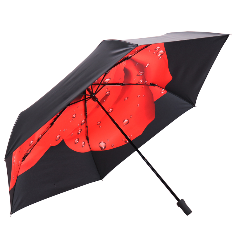 JD Коллекция Rose Red дефолт jingdong [супермаркет] рай зонтик upf50 весь оттенок черного винила передачи сложенный зонтик зонтик зонт от солнца восход 30309dlcj