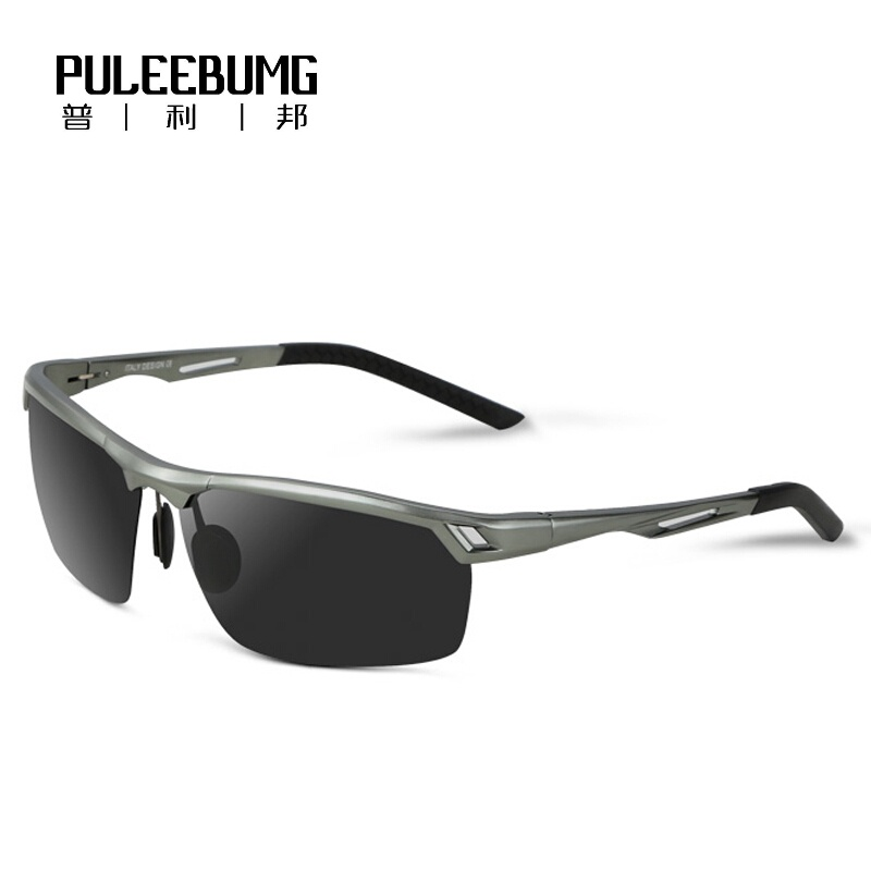 PULEEBUMG Модели для мужчин с поляризованным солнцезащитным очком Сусуман Цены на вещи
