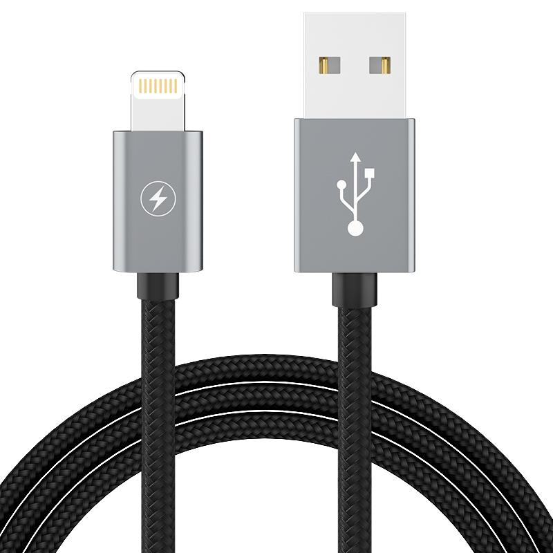 BIAZE Сертификация компании Apple MFI - черный дефолт d8 mfi сертифицированная линия передачи данных apple 8 7 6 5s телефон быстрый зарядный кабель usb кабель питания поддержка iphone5 6s 7plus x ipad pro
