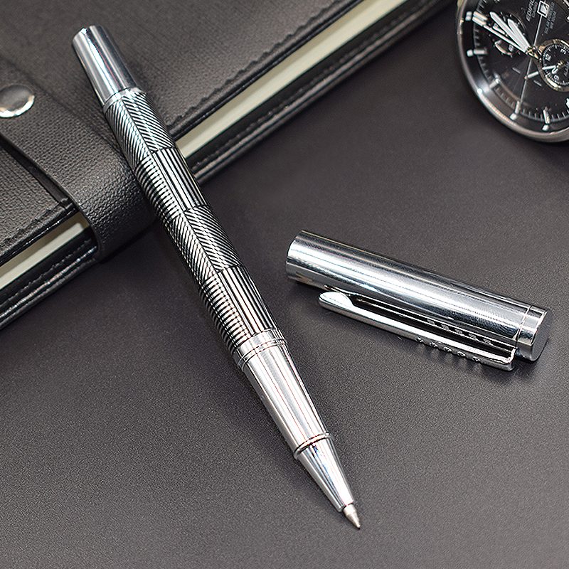 MP Grey Roller ball pen mp white roller ball pen