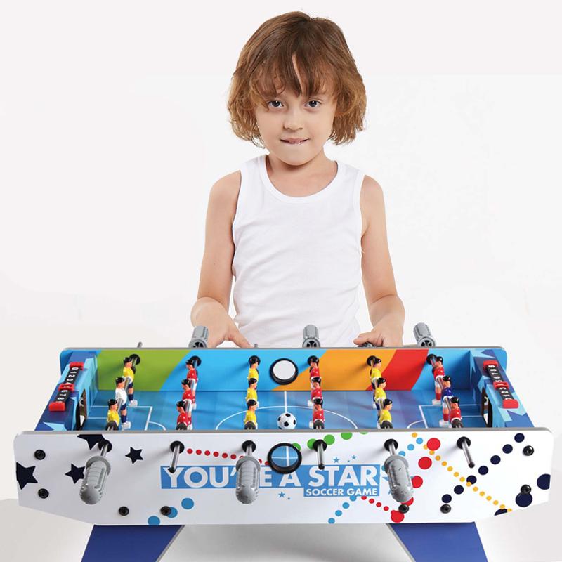 JD Коллекция 6 цветовых схем настольный футбол 1 игрушки для детей
