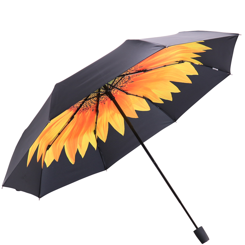 JD Коллекция Восточный Восход дефолт jingdong [супермаркет] рай зонтик upf50 весь оттенок черного винила передачи сложенный зонтик зонтик зонт от солнца восход 30309dlcj