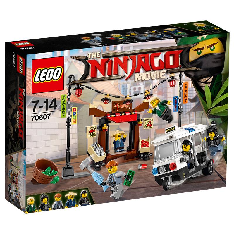 JD Коллекция Phantom Ninja город Погоня дефолт 755pcs bela 10325 ninja db x nya pythor kai masters of spinjitzu ninja building block toys compatible with lego