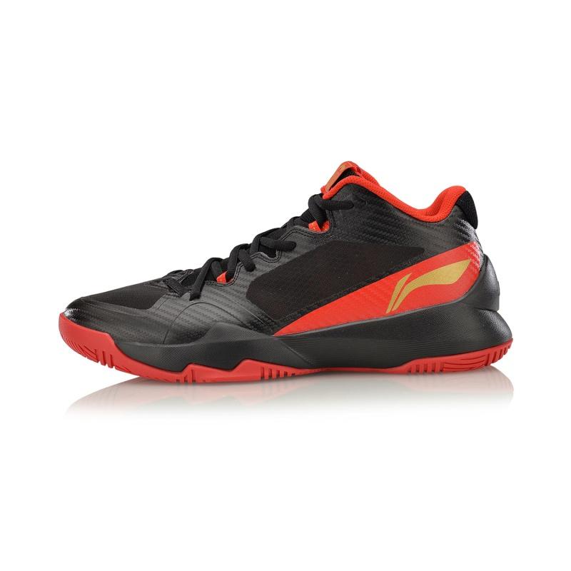 LI-NING Красный 41 ярд jrqiot 2017 new children high top shoes sneakers girls boys shoes sneakers high quality kids shoes sneakers for child 2