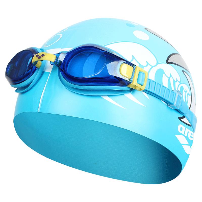 JD Коллекция Синий костюм По умолчанию очки плавательные larsen s45p серебро тре