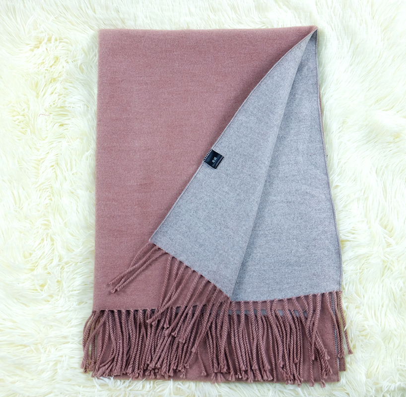 MEGIR russet-red 175cm woolly boolly шарф