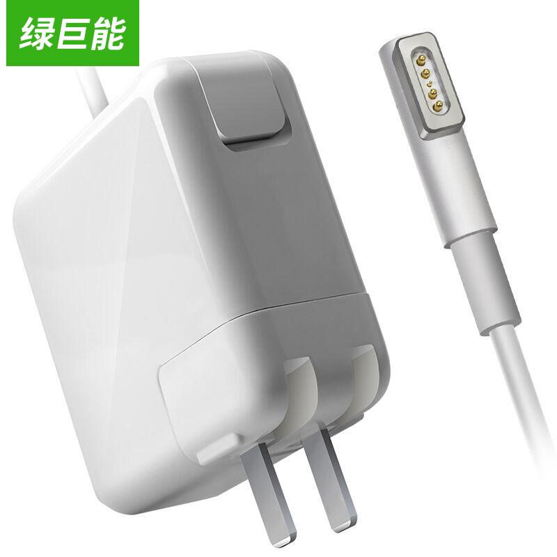 JD Коллекция 60W 165V365A L-изгиб дефолт green giant может llano подходит для адаптера apple зарядное устройство 60w macbook pro a1502 a1425 a1435 ноутбук шнуром питания 16 5v3 65a