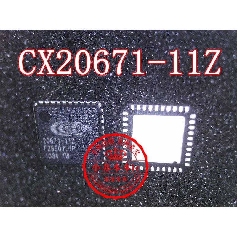 CazenOveyi 5pcs lot conexant cx20671 21zpi cx20671 low power codec soc with integrated class d stereo amplifier for high definition audio