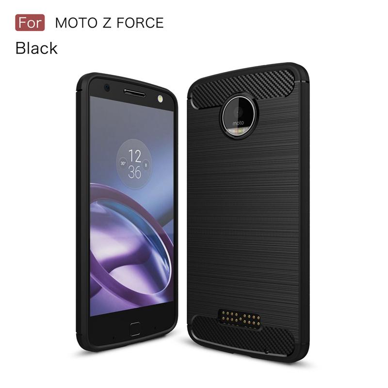 GANGXUN черный Обложка для  Motorola Moto Z Force