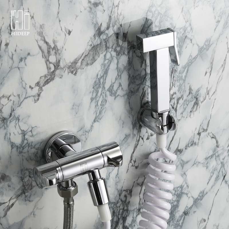 HIDEEP C hideep toliet bidet hand held portable bidet sprayer shattaf toilet shower spray set tap