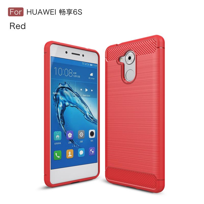 GANGXUN Красный huawei enjoy 6s смартфон