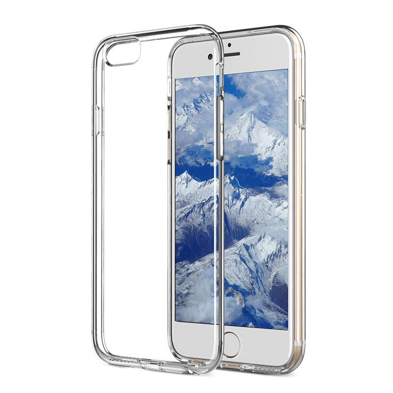JD Коллекция Прозрачный iPhone 66s чехол perfeo для apple iphone 6 6s tpu красный pf 5269