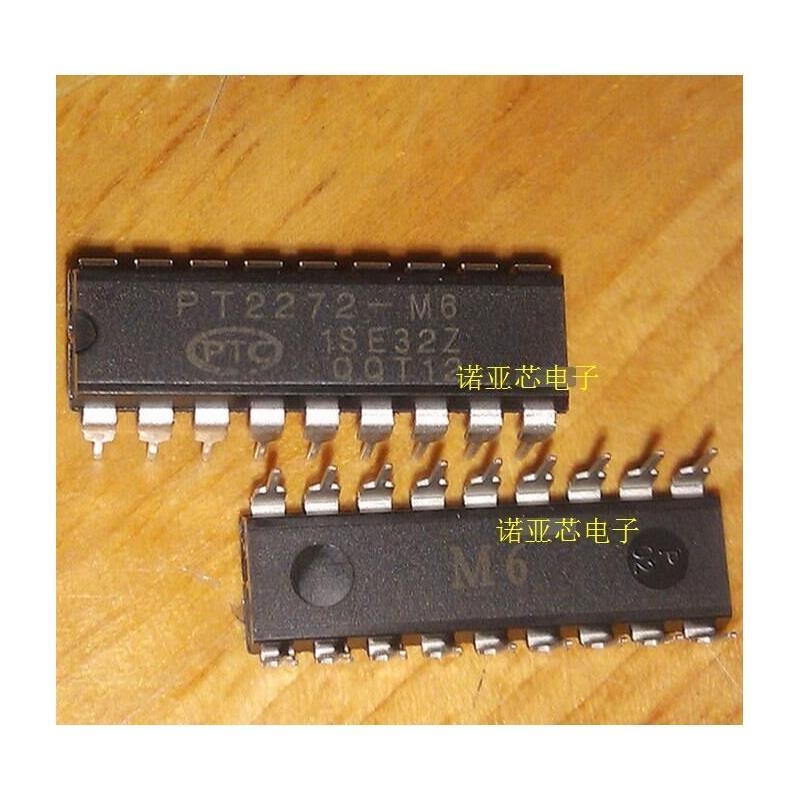 CazenOveyi 10pcs free shipping pt2272 m6 pt2272 m6 dip 18 remote control decoder ic new original