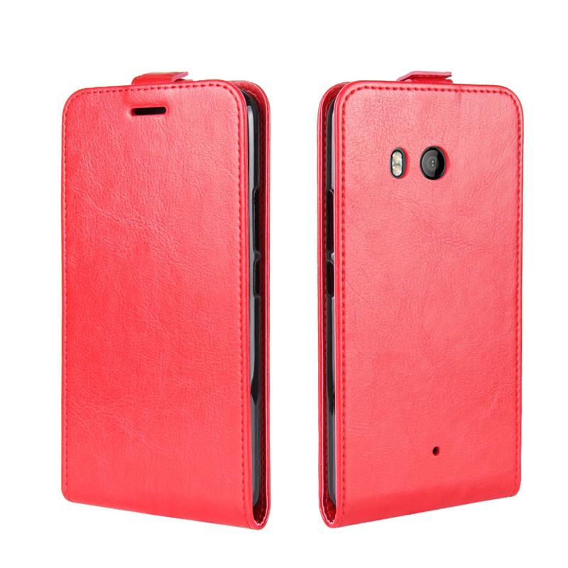 GANGXUN Red кейс для назначение htc u11 life u11 бумажник для карт флип чехол сплошной цвет мягкий кожа pu для htc u11 htc u11 life htc u11 plus