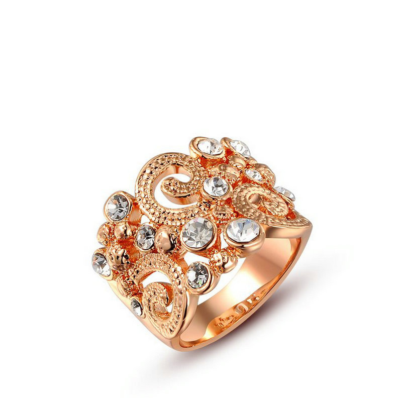 yoursfs Роза золотой 6 606 489 минимальный $ 10 европа и соединенные штаты преувеличены drop в ретро кольцо