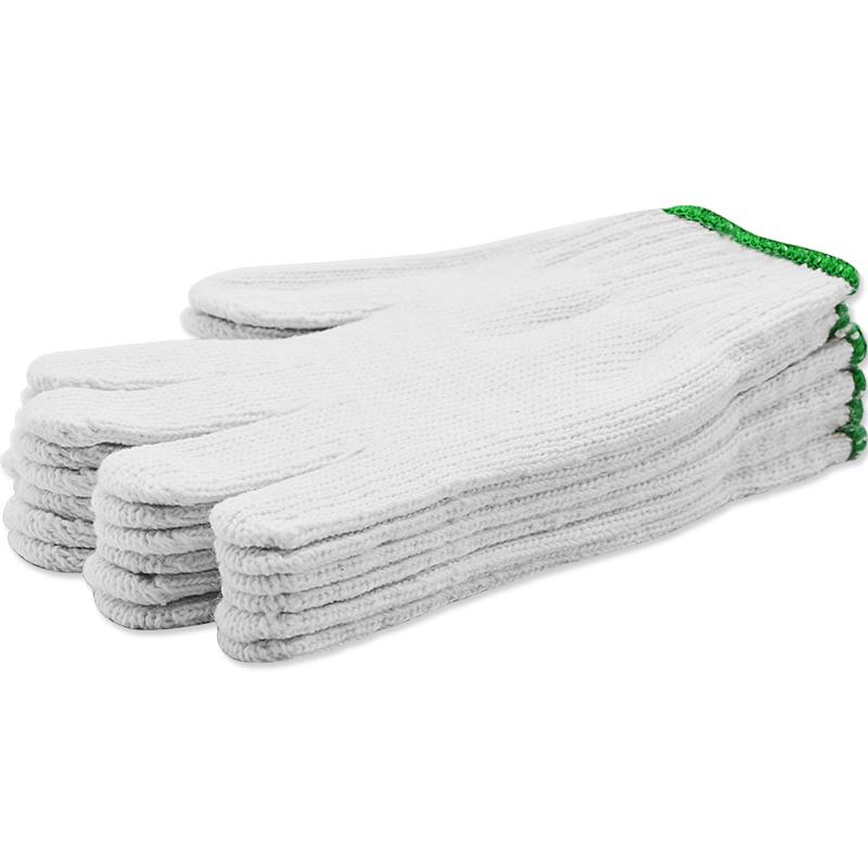 JD Коллекция 60г хлопчатобумажной пряжи платить 3 дефолт перчатки перчатки крафт перчатки перчатки перчатки 60г 3 градуированные gl0005d