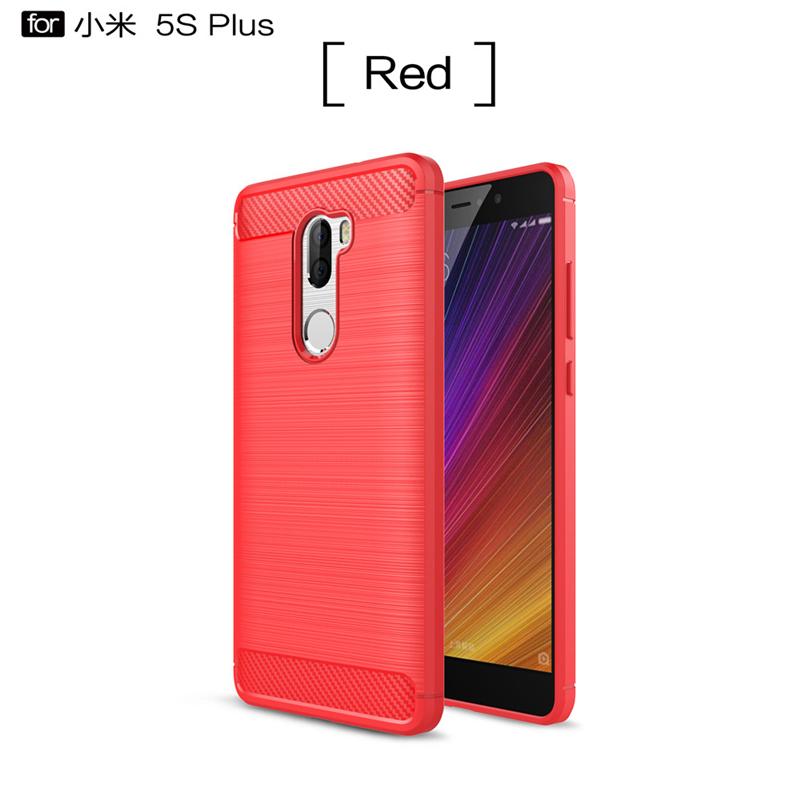 GANGXUN Red чехол для Xiaomi Mi 5s Plus
