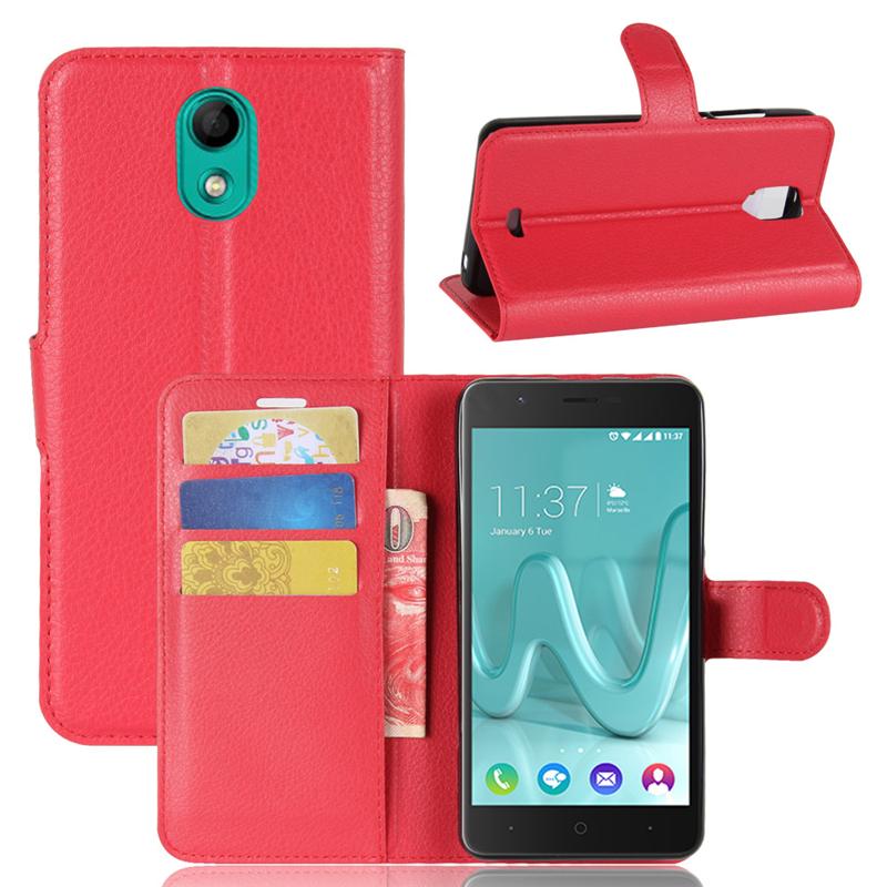 GANGXUN Red gangxun wiko kenny чехол из высококачественной кожи pu с флип обложкой kickstand anti shock кошелек для wiko kenny