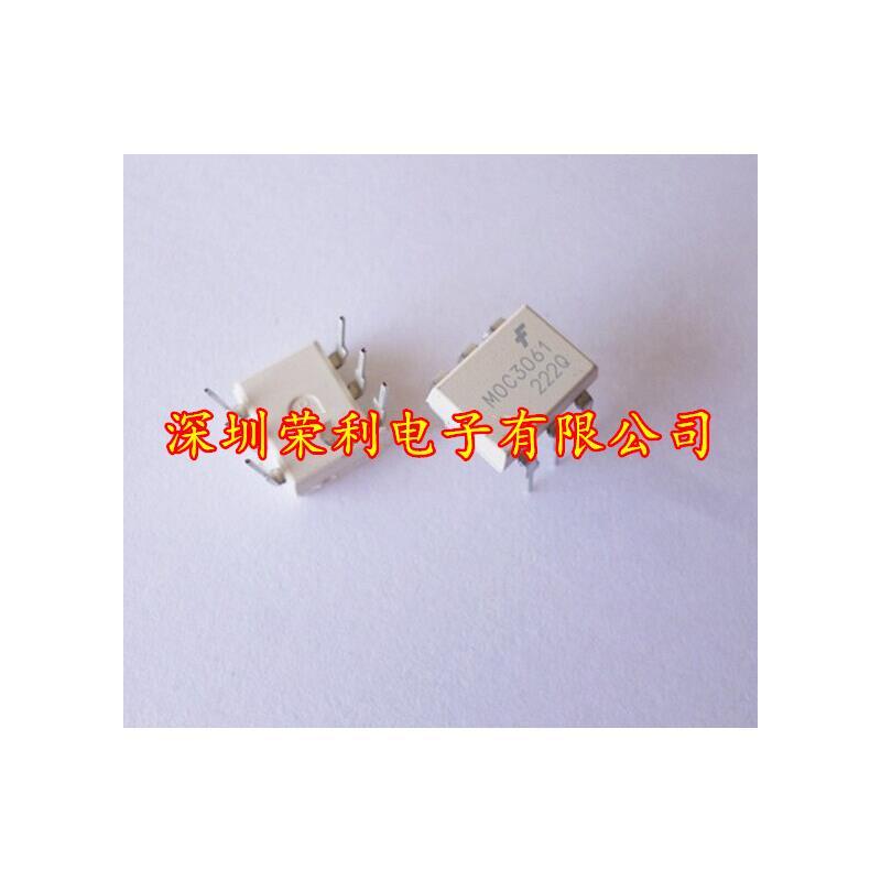 CazenOveyi 30pcs free shipping 100% new original new original moc3023 photocoupler triac driver dip 6 in line