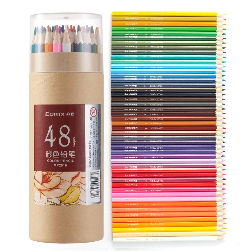 JD Коллекция 48 цвет дефолт соединенный comix высококачественные двухсторонние бумаги