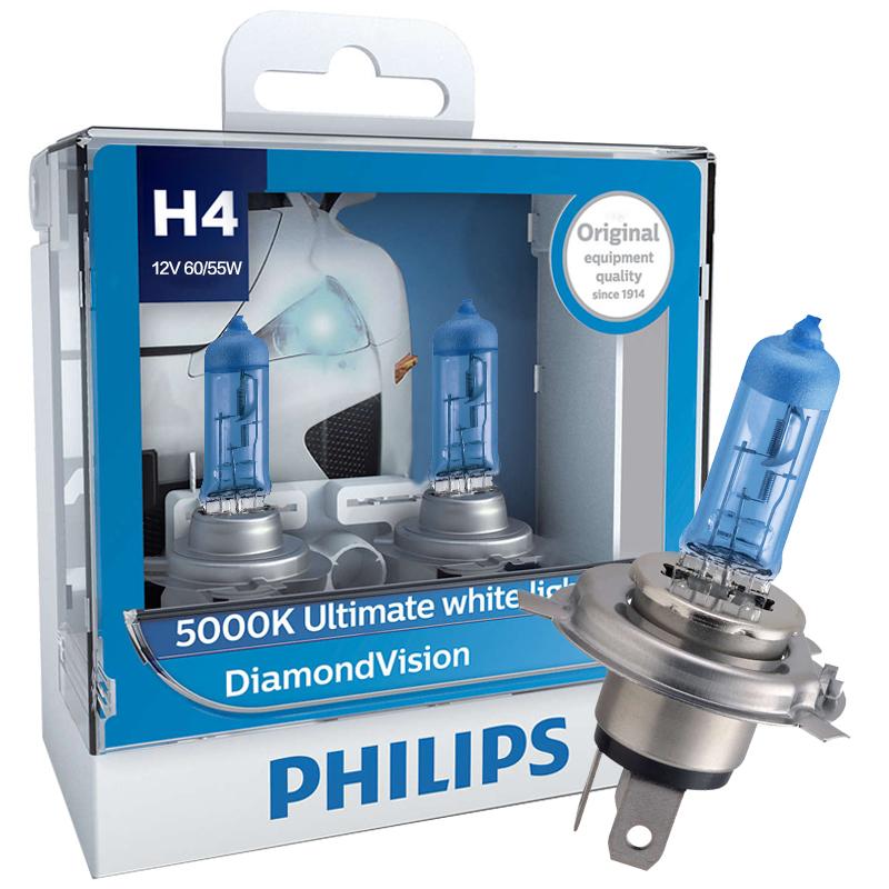 JD Коллекция Light Blue Даймонда H4 philips philips blue diamond h4 модернизированная автомобильная лампочка 2 цвета цвета упаковки 5000k