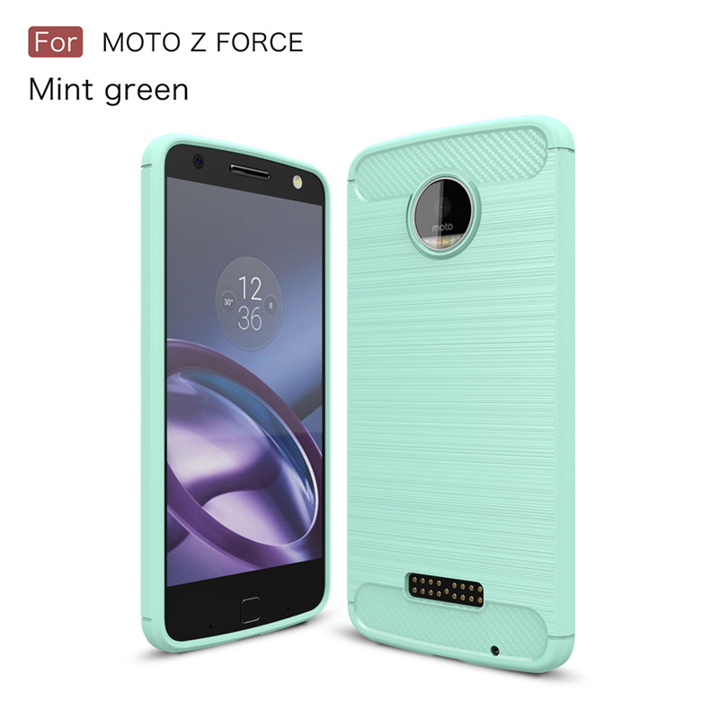 GANGXUN Зеленый цвет Обложка для  Motorola Moto Z Force