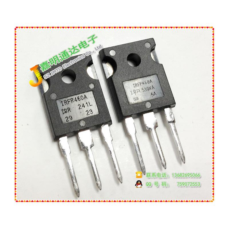 CazenOveyi free shipping 20pcs irfp460 irfp460pbf irfp460a irfp460lc to 247 n channel power mosfet transistor