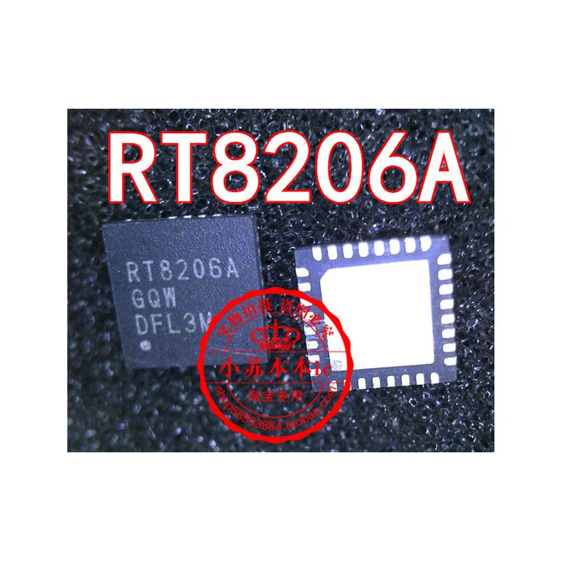 CazenOveyi free shipping 10pcs lot rt8206b rt8206 rt8206bgqw qfn we good at repair notebook computer laptop motherboard