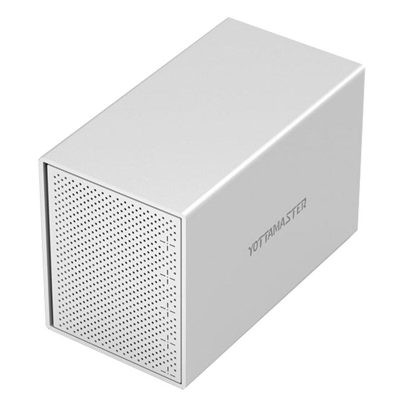 JD Коллекция yottamaster шкафы ps100u3 алюминий 3 5 дюйма sata3 0 usb3 0 hdd enclosure серийный настольный жесткий диск поддерживает 10tb жесткий диск серебра