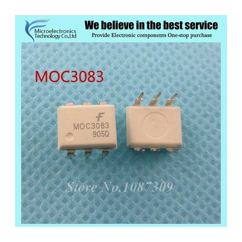 CazenOveyi 20pcs free shipping moc3020 photoelectric coupler and scr output transistor optocoupler dip 6 100% new original