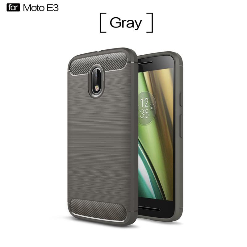 GANGXUN Серый цвет Обложка для  Motorola Moto E3