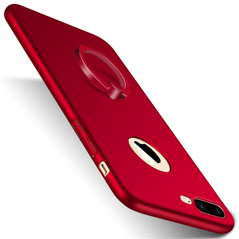 GANGXUN красный аксессуар чехол rock space ring holder ��ля iphone 7 light blue 47536