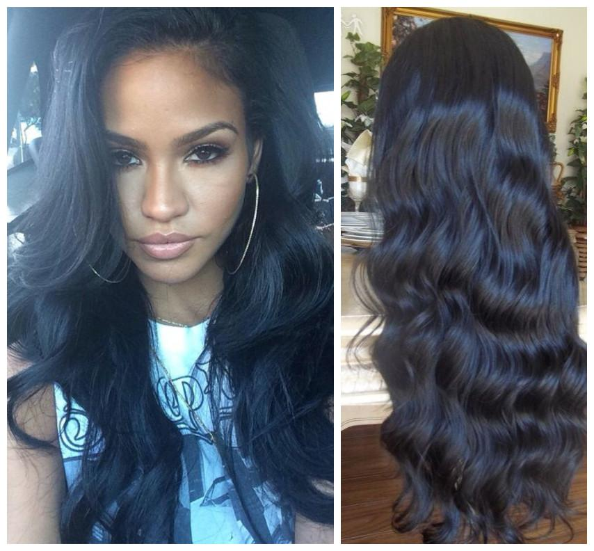 парик BOND 20 inches unprocessed brazilian full lace human hair wigs body wave with baby hair for black women