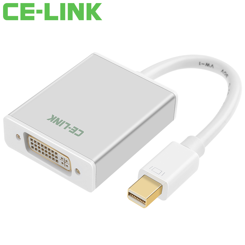 JD Коллекция Mini DP на DVI версии 12 активное дефолт кабель создание mini dp dp hdmi dvi тройной трансфицировал мини displayport адаптер конвертера подключены проекционный телевизор macbook белого cd0016